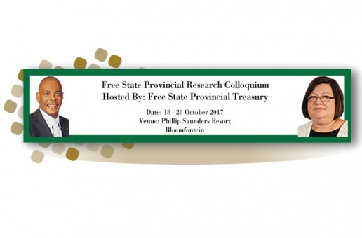 Free State Provincial Research Colloquium 18 – 20 October 2017